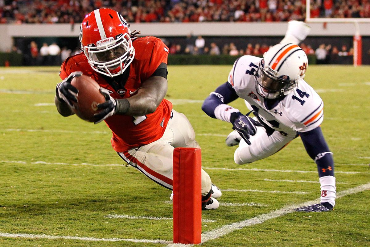 Georgia vs  Auburn 2012: TV schedule, game time, spread and