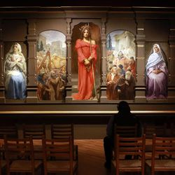 Major Byu Exhibit May Give Christendom A New Favorite Painting