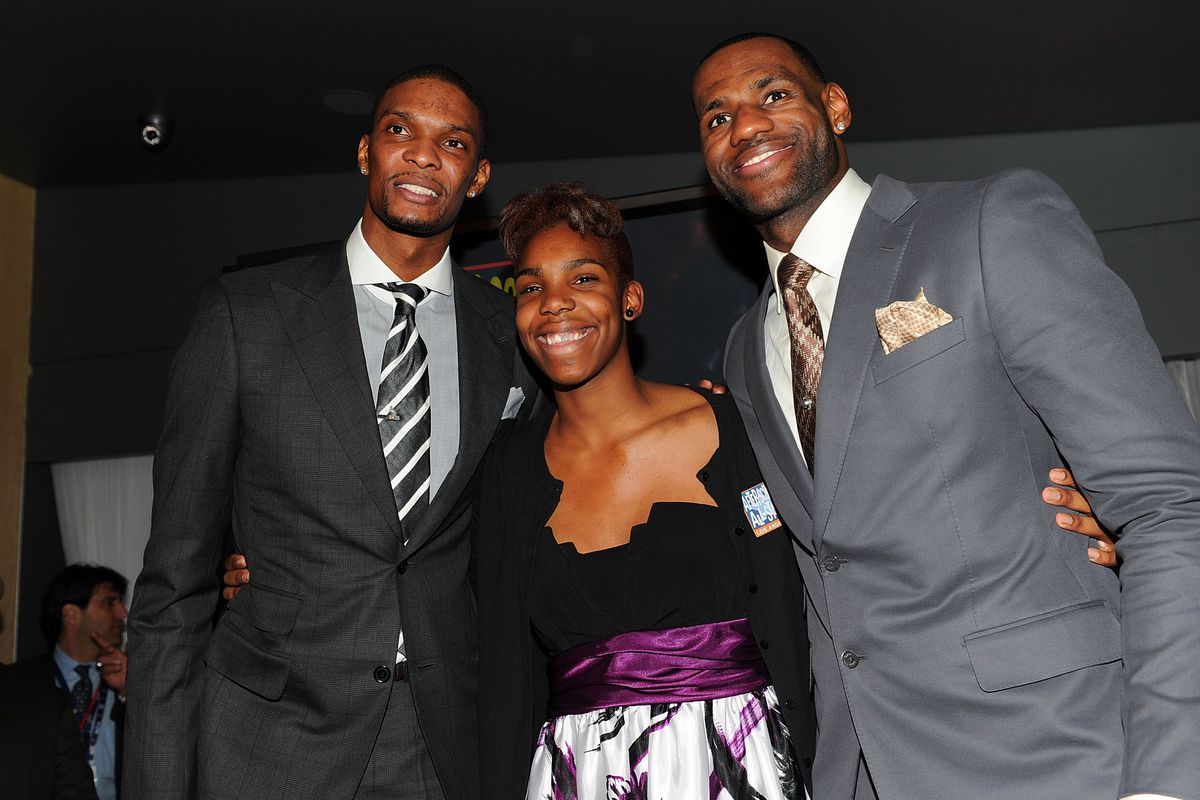LeBron wishes he were half as efficient as Reshanda Gray.