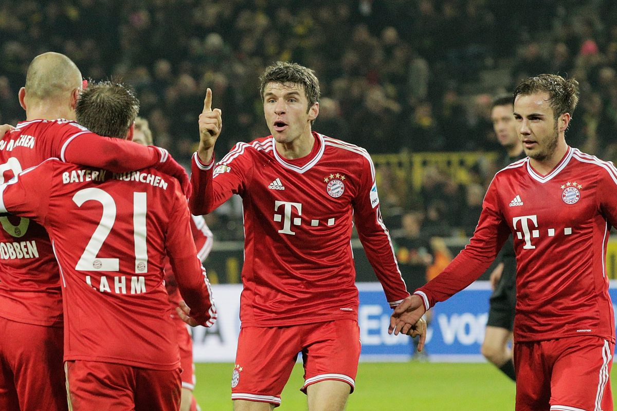 He just wants one thing Bayern, just one simple thing.