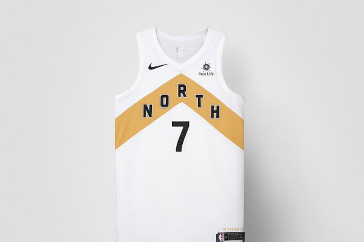 eb219260f05 As a continued tribute to Toronto (and Drake, and also, uh, Nike), the  Raptors have officially revealed their new NBA City Edition jersey for the  2018-19 ...