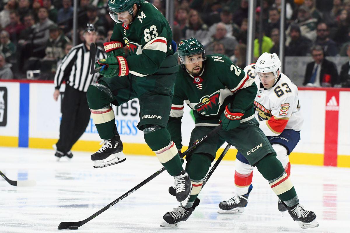 NHL: JAN 02 Panthers at Wild