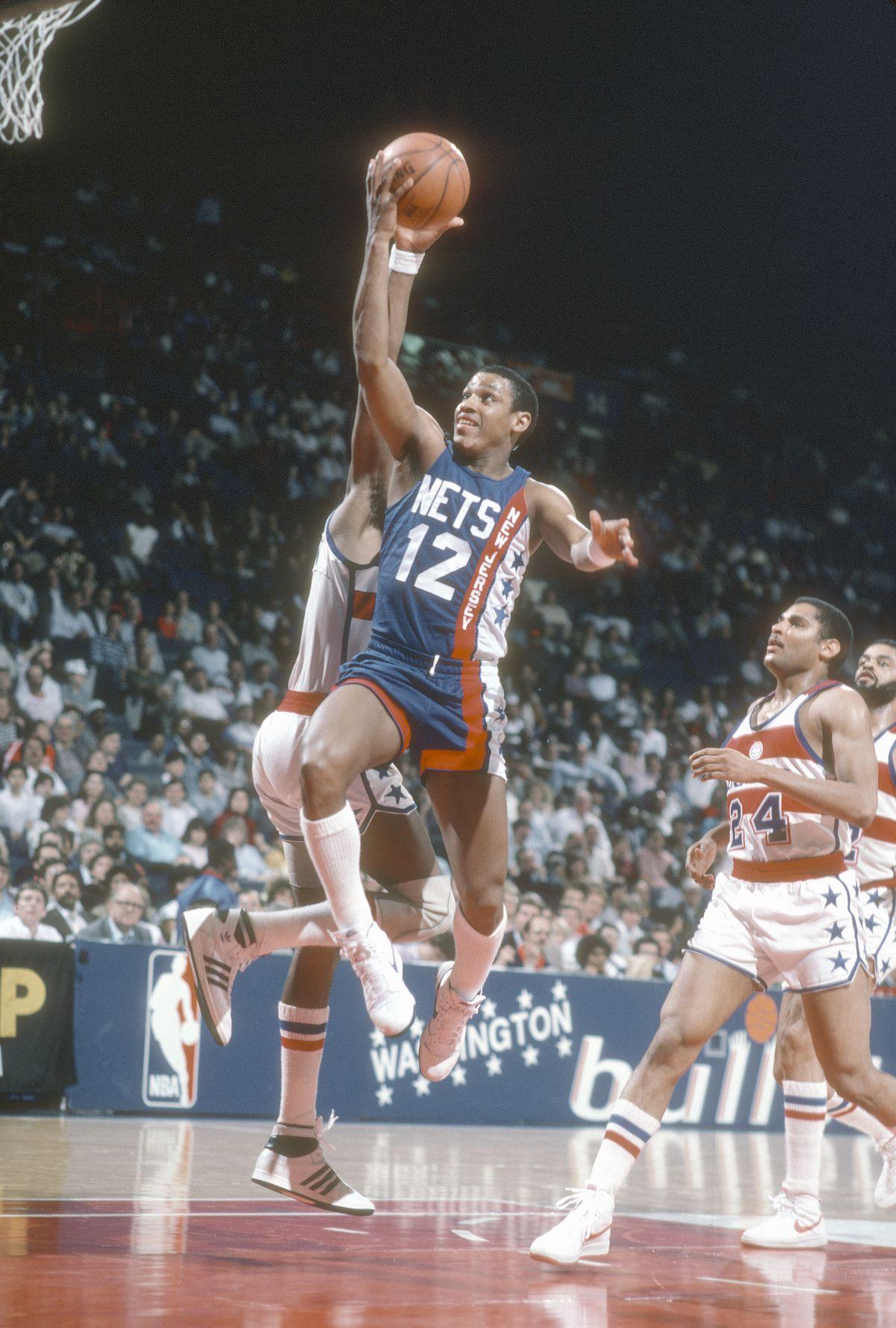 New Jersey Nets v Washington Bullets