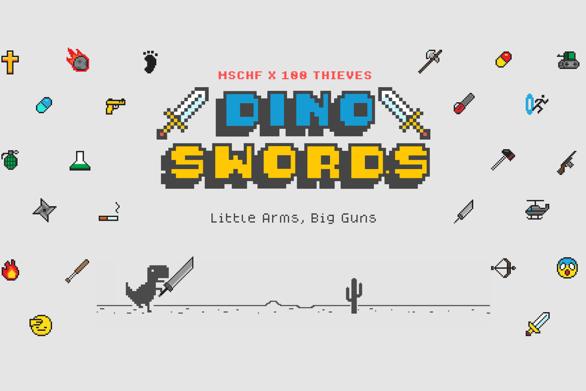 Google S Dinosaur Browser Game Gets A Dope Mod That Includes Double Swords The Verge