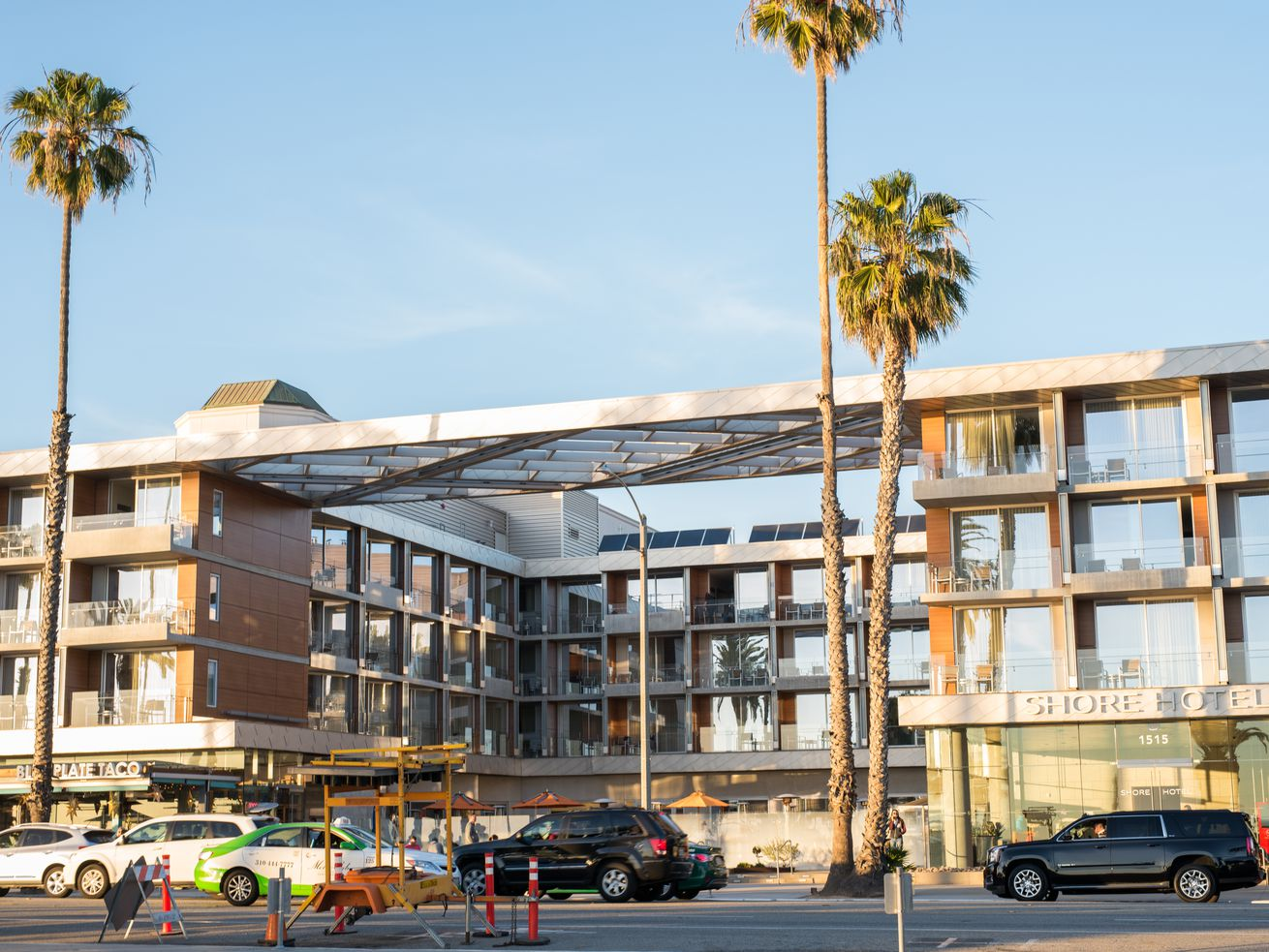 At Shore Hotel on Ocean Boulevard, rooms start around $300 a night and can go up to $800.