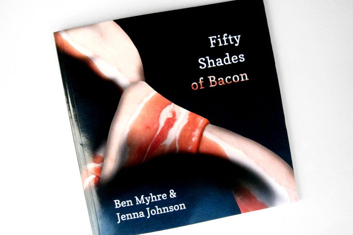 Yes, There's a Fifty Shades of Bacon Cookbook