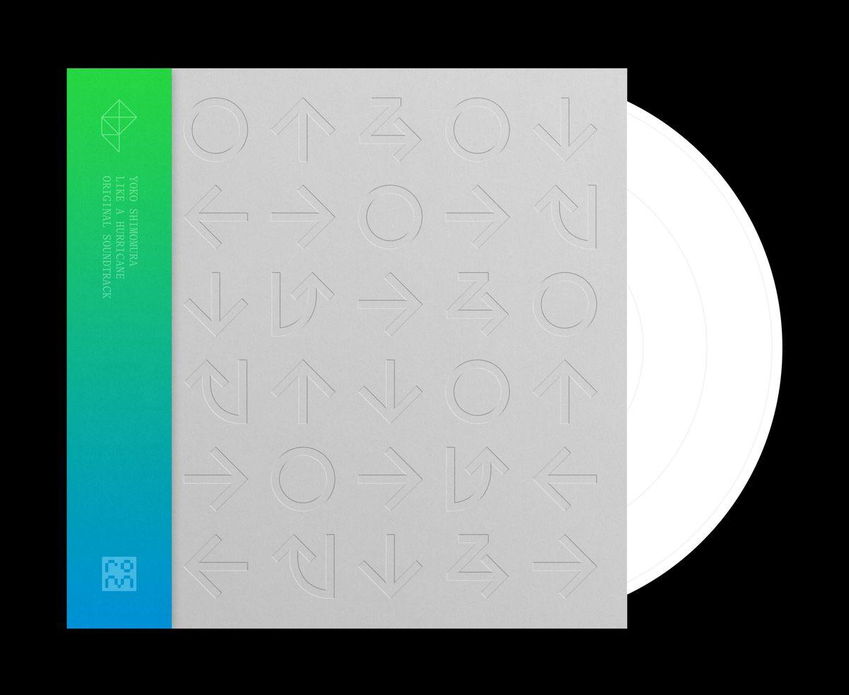 A vinyl disc appears inside a sleeve