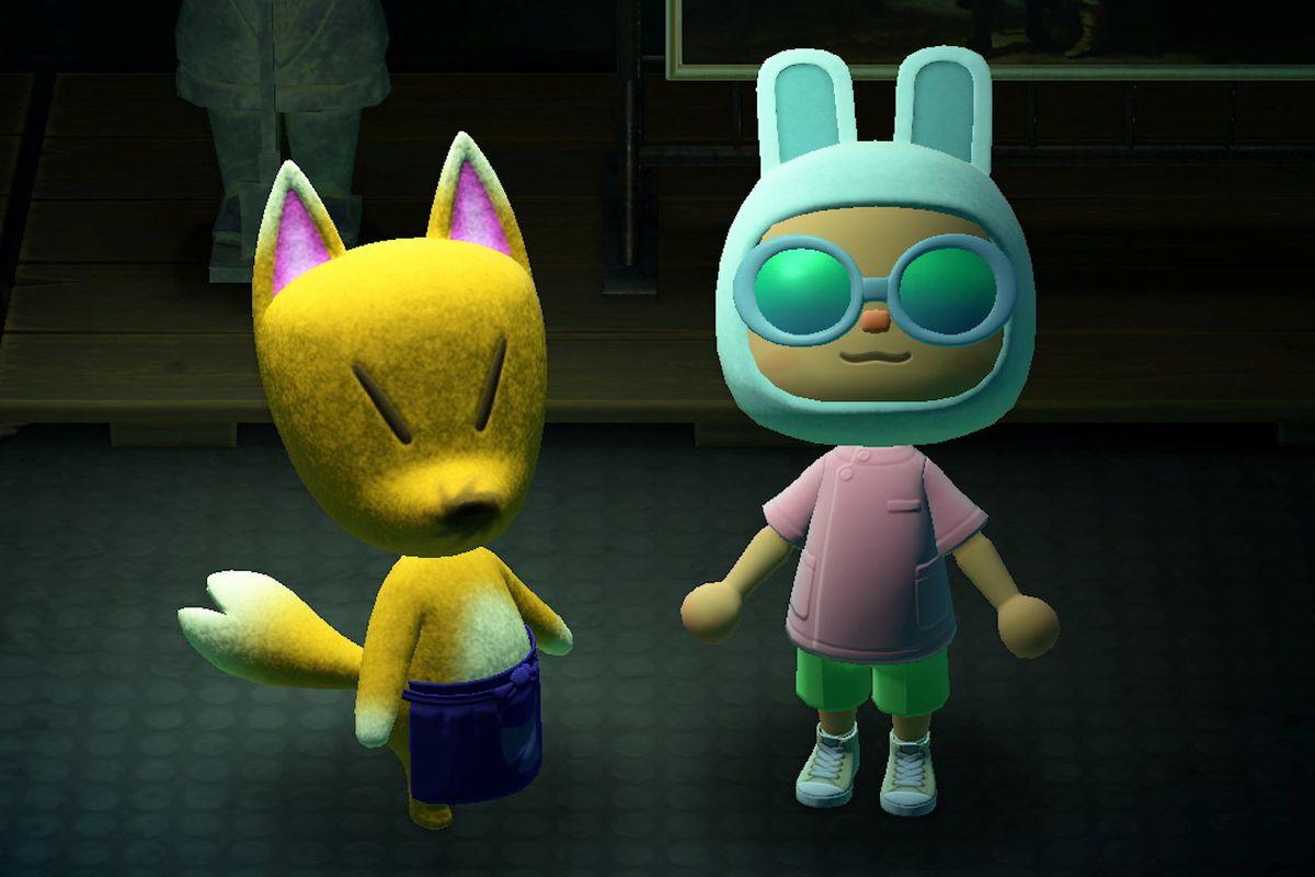 Redd the fox in Animal Crossing: New Horizons