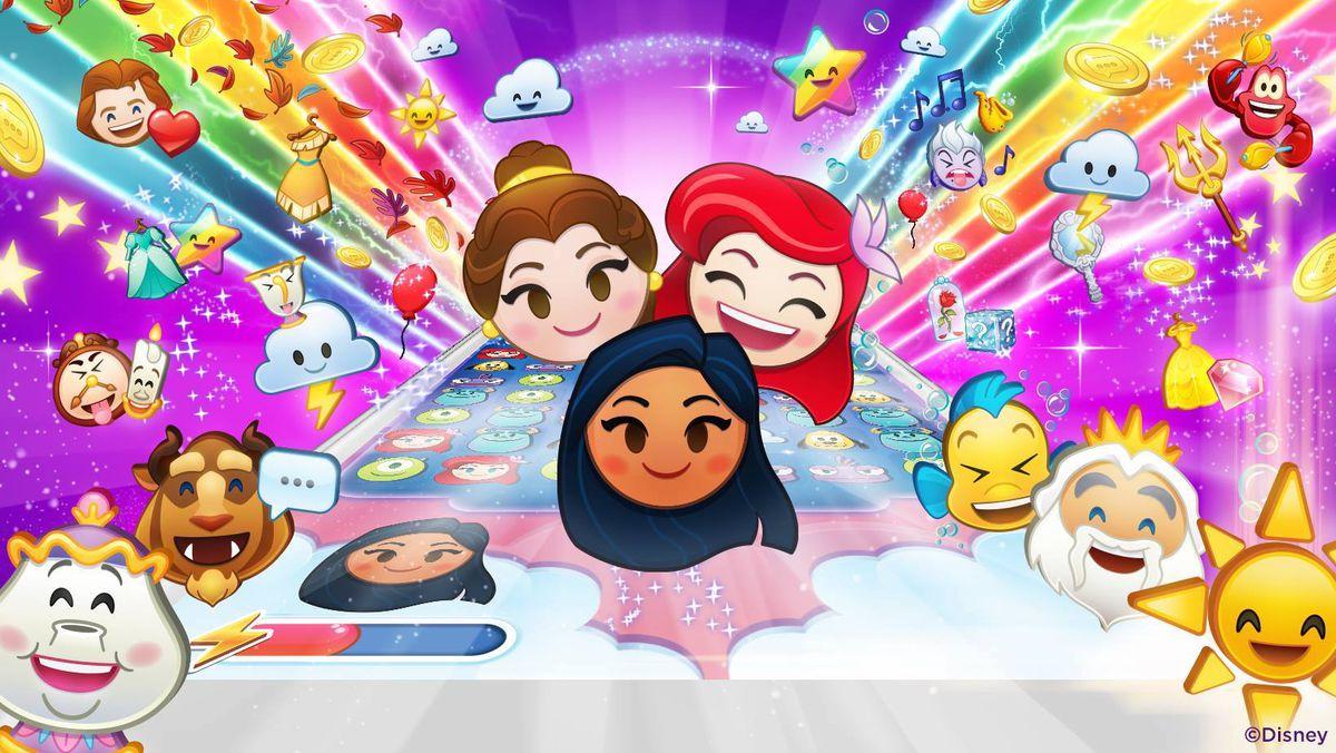 Artwork from Disney Emoji Blitz.