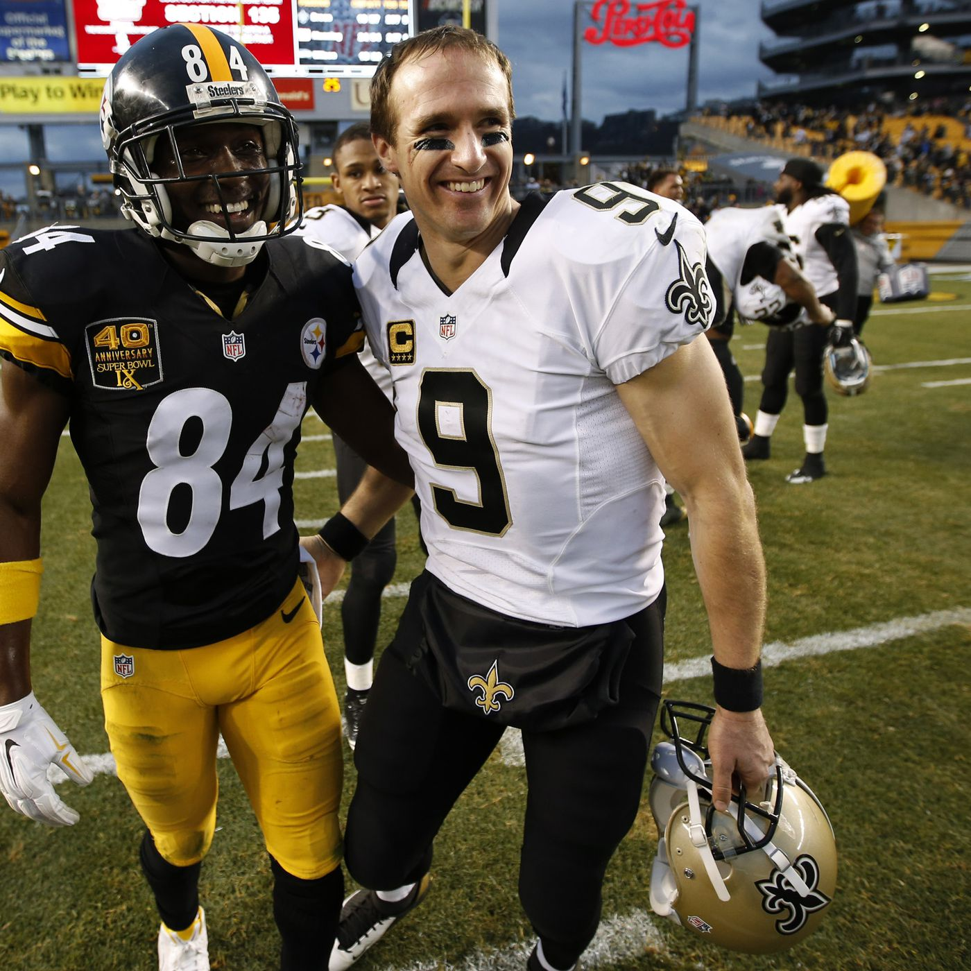 best sneakers c55f8 9fda1 The Saints were wise to stay away from the Antonio Brown ...
