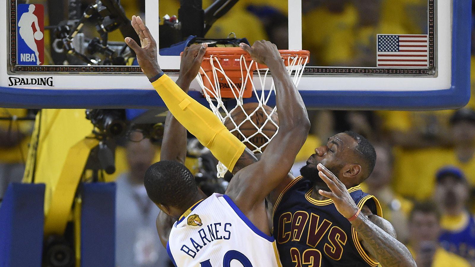 Harrison Barnes uses #TBT to remind everyone he dunked on LeBron James - SBNation.com