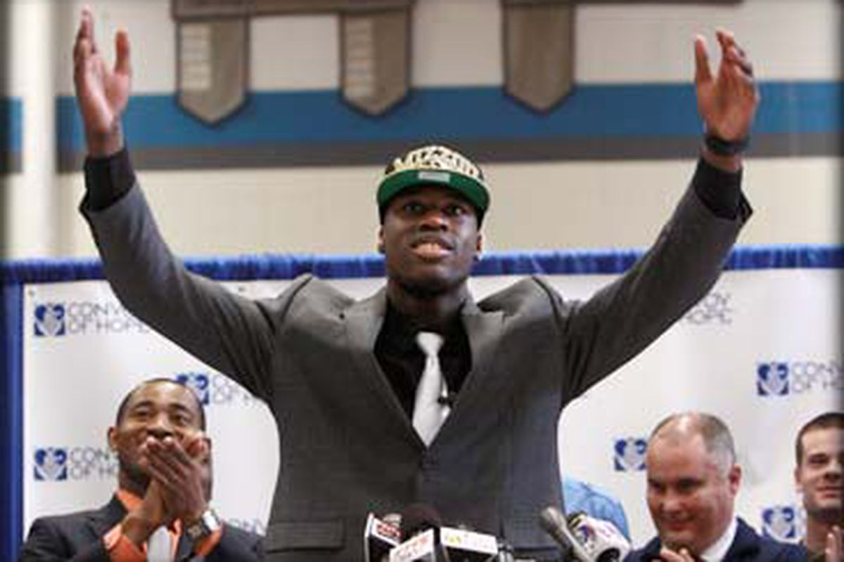 Dorial Green-Beckham, the country's top-rated wide-receiver prospect, signed with Missouri