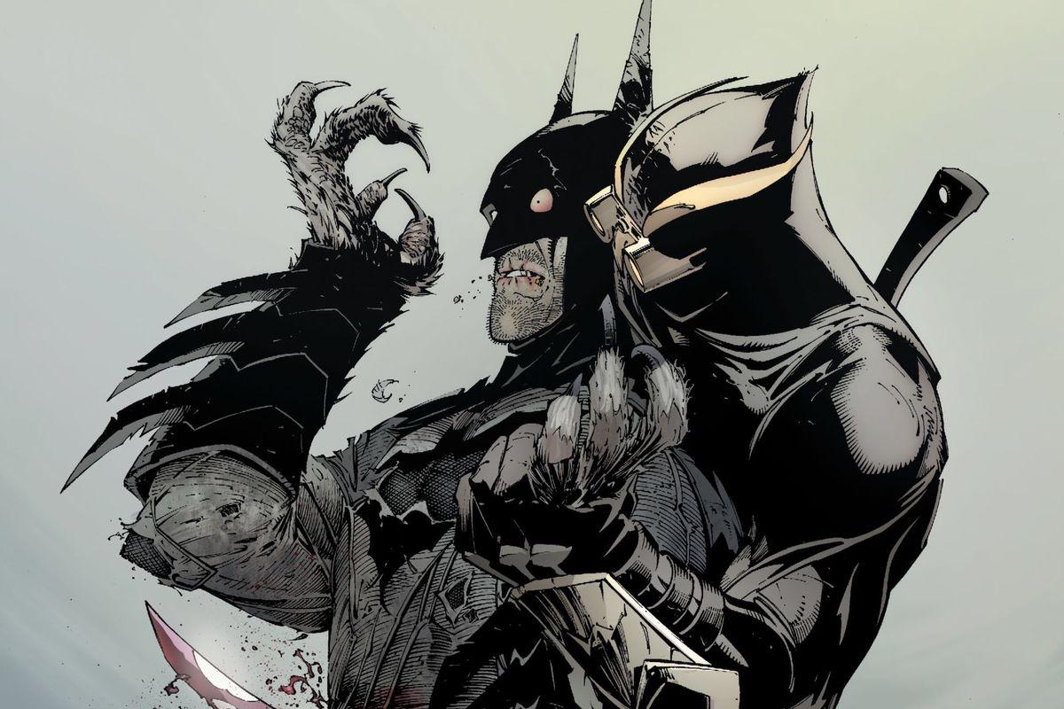 A Talon stabs Batman in the back in Batman #5, DC Comics (2012).