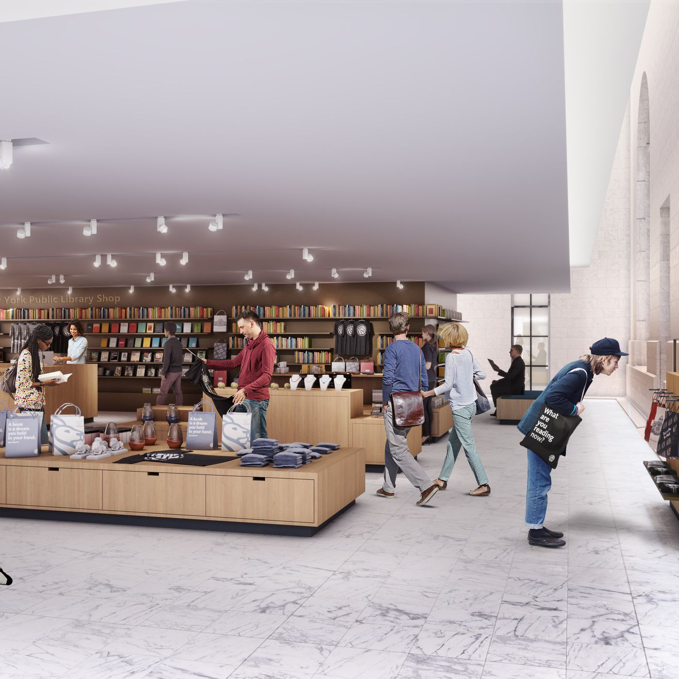 New York Public Library S Main Branch Revamp Continues To Inch Forward Curbed Ny She is the chief operating officer of the new york public library. new york public library s main branch