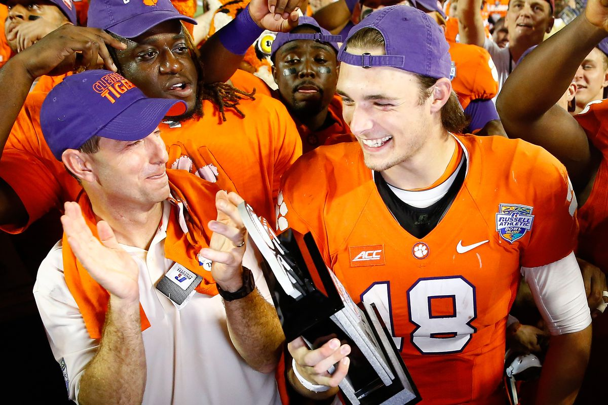 Haters gonna hate...(Dabo is just loving this...deservedly so...)