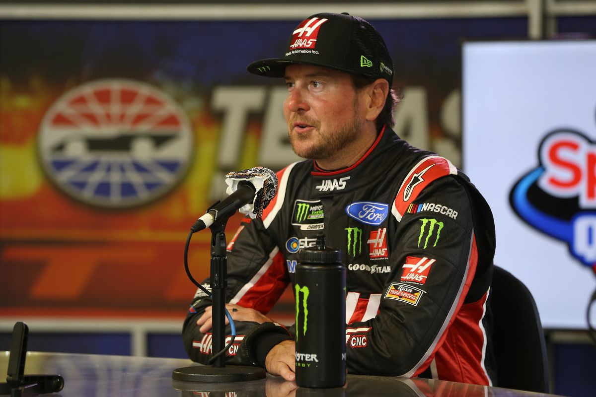 NASCAR at Texas qualifying results: Kurt Busch leads Stewart-Haas Racing 1-2-3 in weather-shortened session