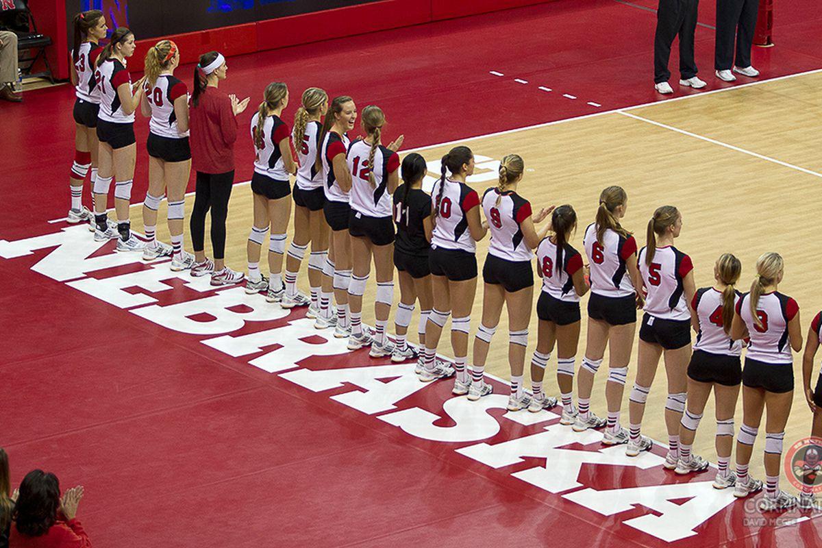 Nebraska vs. Purdue Volleyball: Gallery
