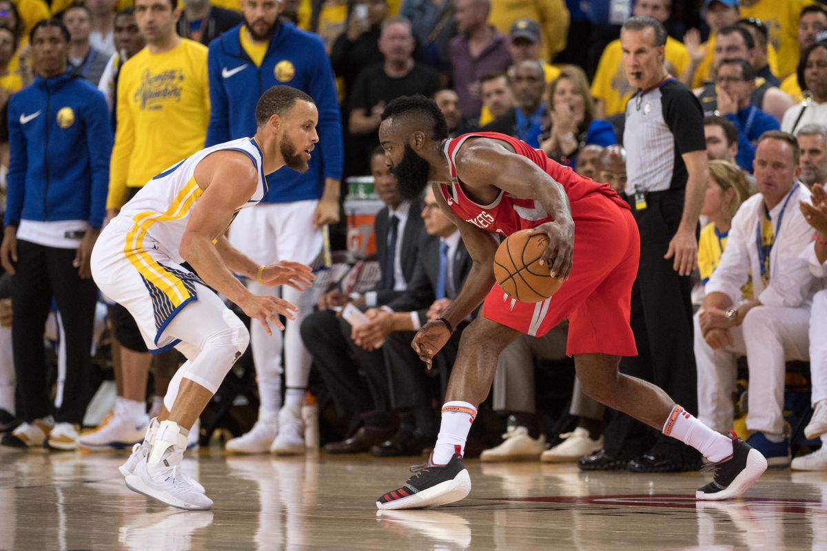 Report James Harden Attacks Steph Curry In Isolation At A