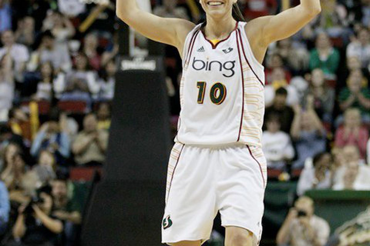 Sue Bird and the 11-2 Seattle Storm look to remain perfect at home tonight at 7 pm against the reigning Eastern Conference champion Indiana Fever.