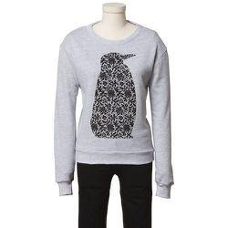 Tibi Fiona Lace Penguin Sweatshirt, $75