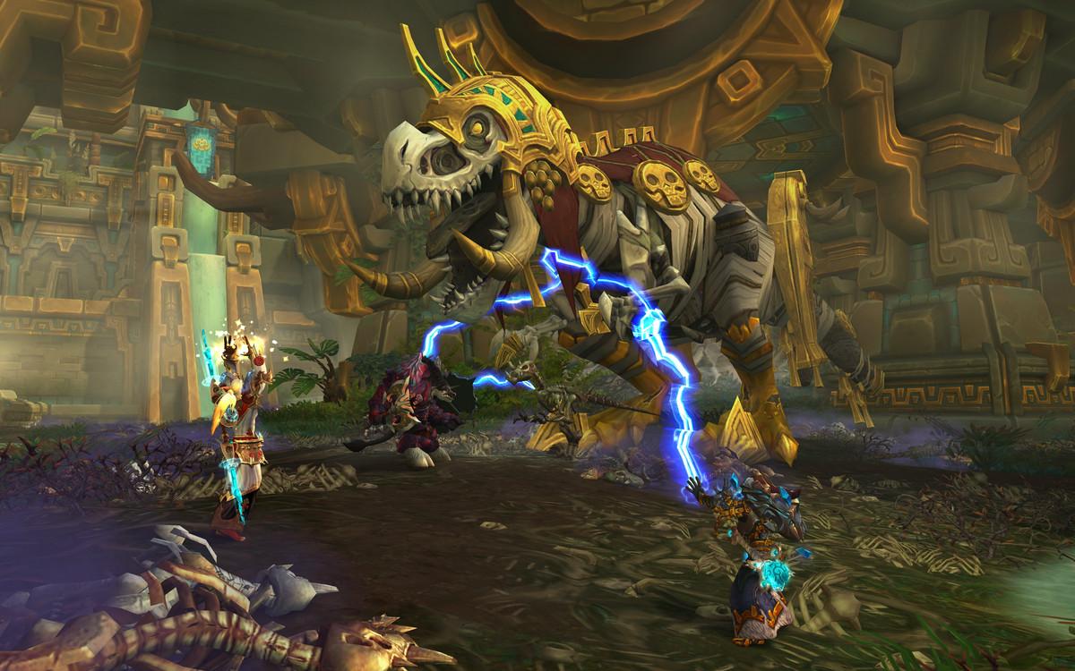 World of Warcraft: Battle for Azeroth - Razan in Zandalar dungeon