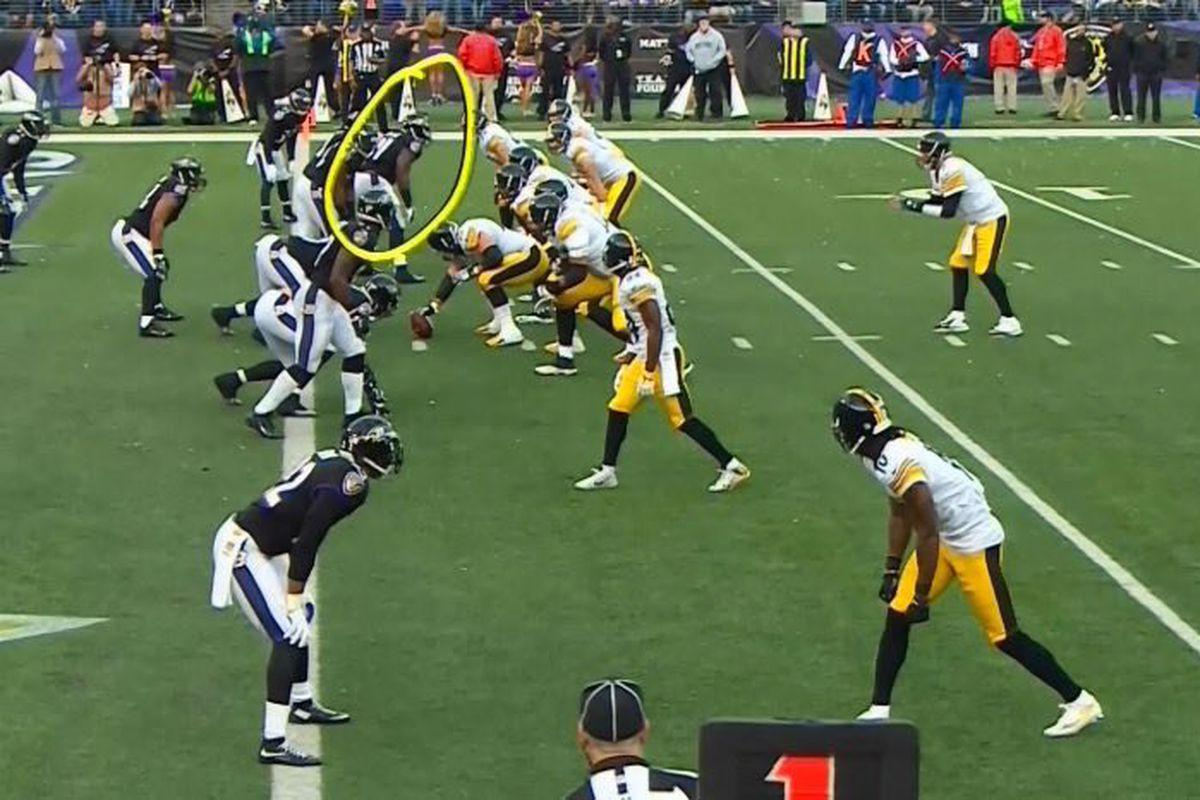 Ravens Vs Steelers Jimmy Smith 100 Yard Pick Six Courtney Upshaw Ruins It By Being Offsides Baltimore Beatdown