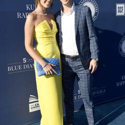Walker Buehler and girlfriend McKenzie Marcinek at the 2019 Blue Diamond Gala.