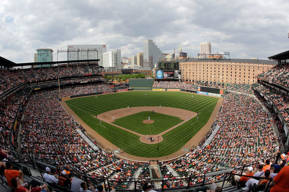 Still the most beautiful place to watch a baseball game.