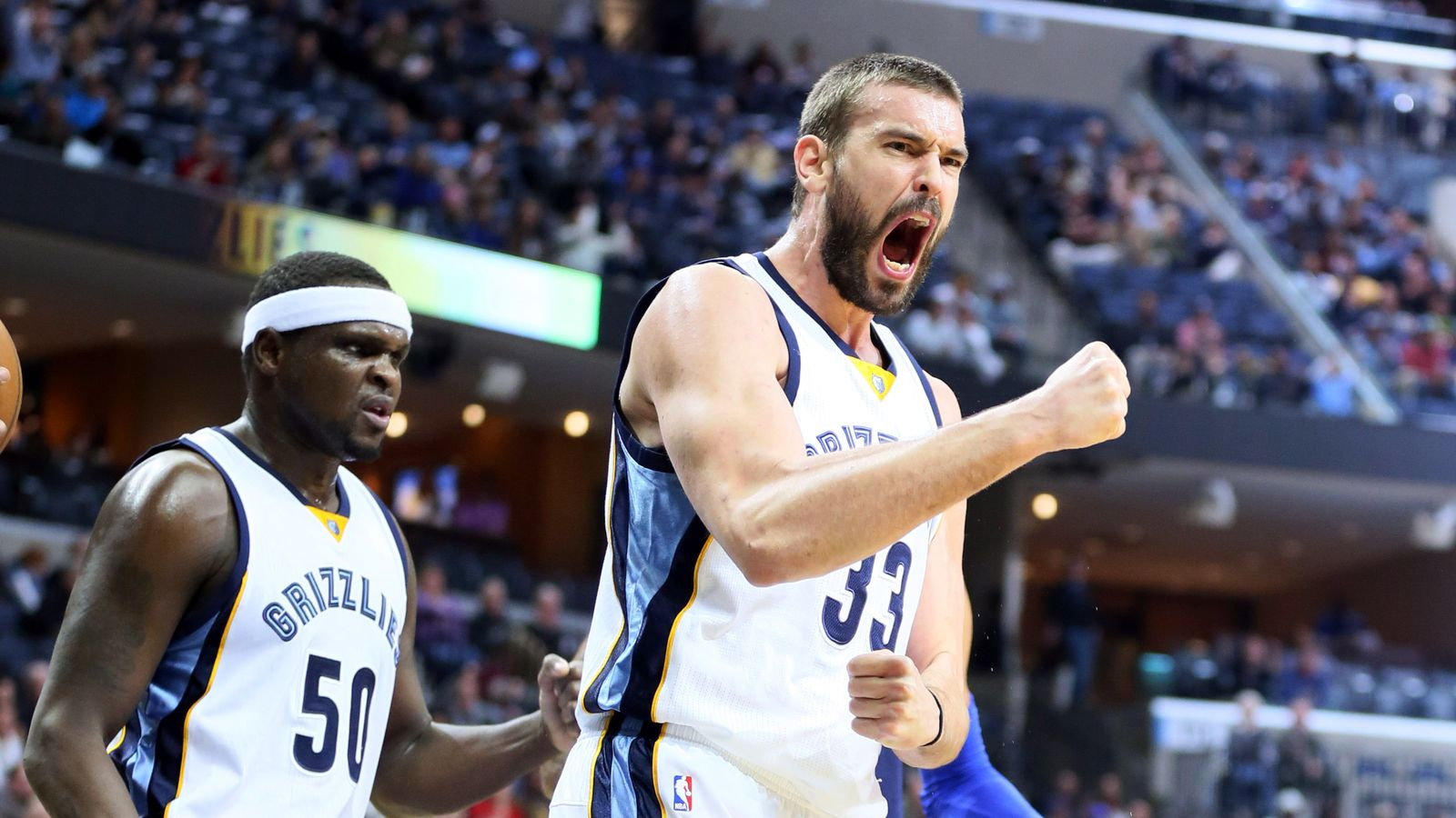 Marc Gasol standing strong in All-Star voting, Randolph ...