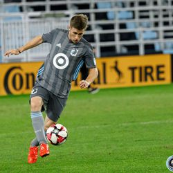 August 14, 2019 - Saint Paul, Minnesota, United States - A Minnesota United Unified Team controls the ball in a match against the Colorado Rapids Unified Team at Allianz Field.
