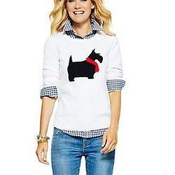 "<a href=""http://www.cwonder.com/Categories/Clothing/Scottie-Intarsia-Sweater/product/CWW-F13-SW586.html?"">Scottie Intarsia Sweater</a>, $88 at C.Wonder"