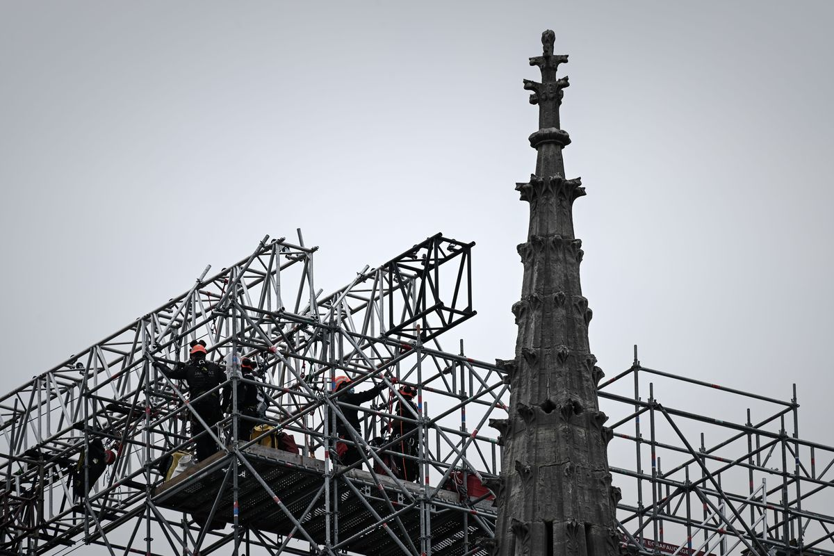 FRANCE-CULTURE-HERITAGE-RELIGION-NOTRE DAME