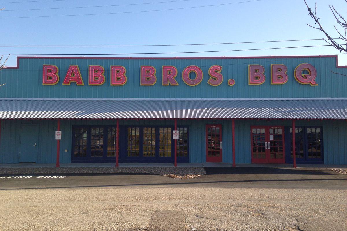 Babb Bros BBQ.