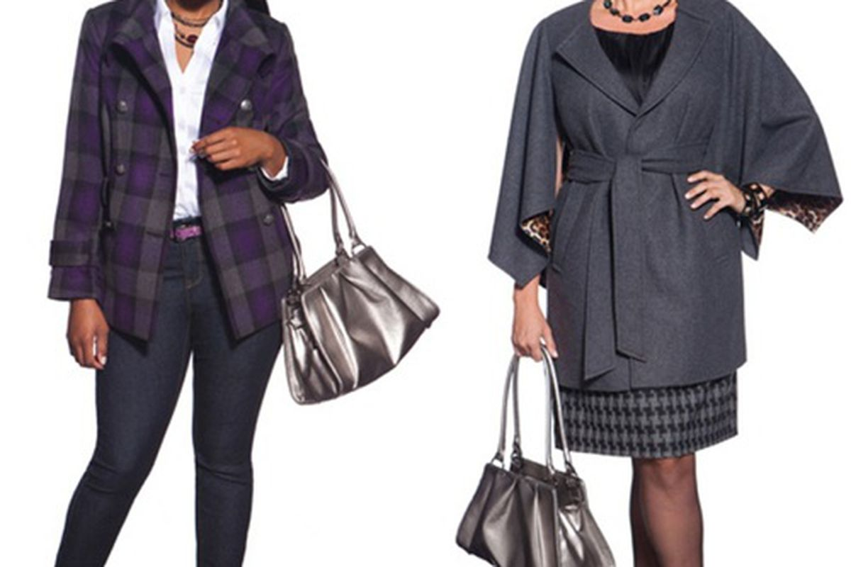 Two looks from the soon-to-launch Eloquii plus-size line