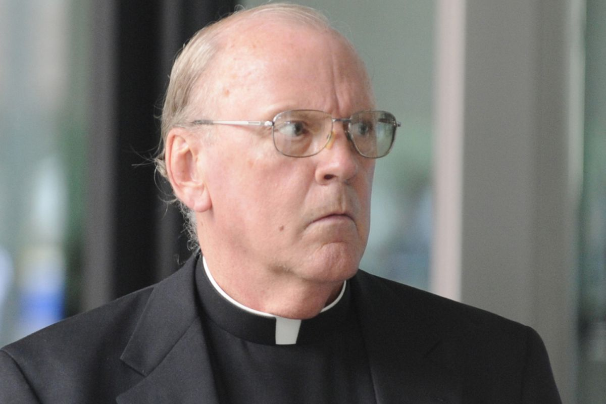 Priest gets slap on wrist for being imprisoned hit man's courier