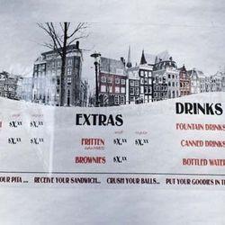 Amsterdam Falafelshop menu