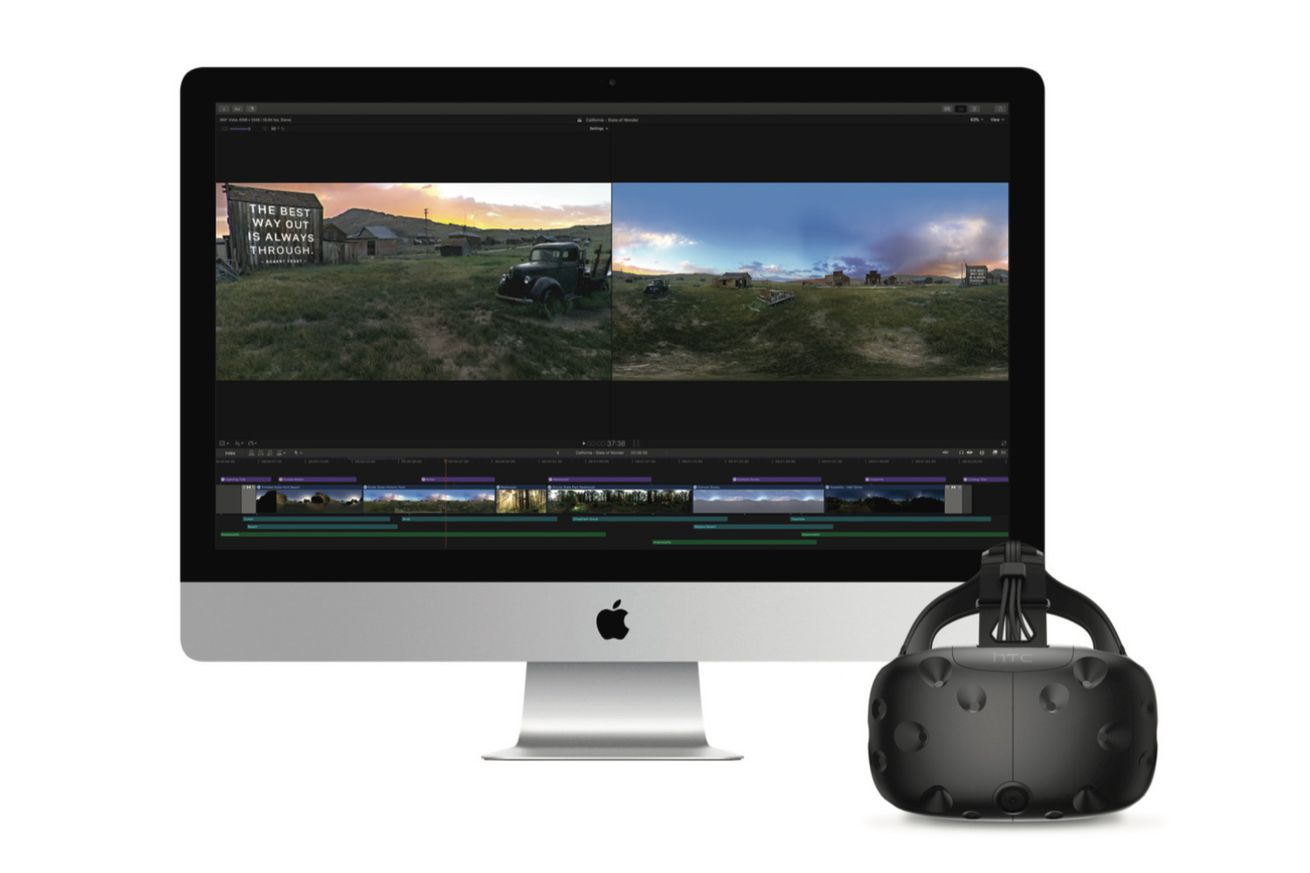 apple s final cut pro now supports vr and hdr video editing