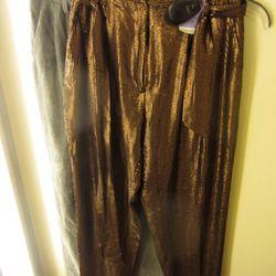 Sachin & Babi droopy crotch trousers, $99