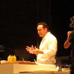 Chef Roberto Solis, Néctar, Mérida, Mexico.