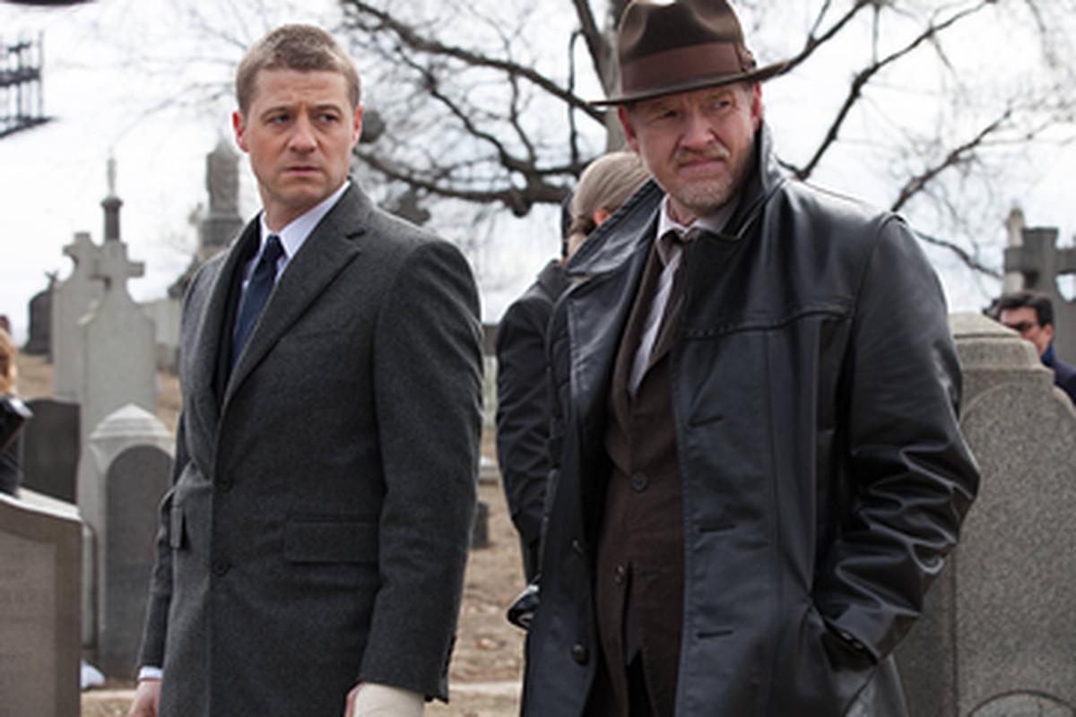 Ben McKenzie and Donal Logue star in Gotham.