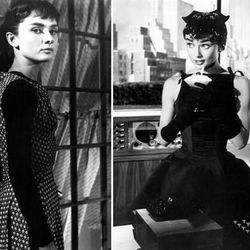 <b>Sabrina:</b> Leave it to Audrey Hepburn to look just about the same (see: beautiful) both pre and post <em>her</em> Parisian makeover.