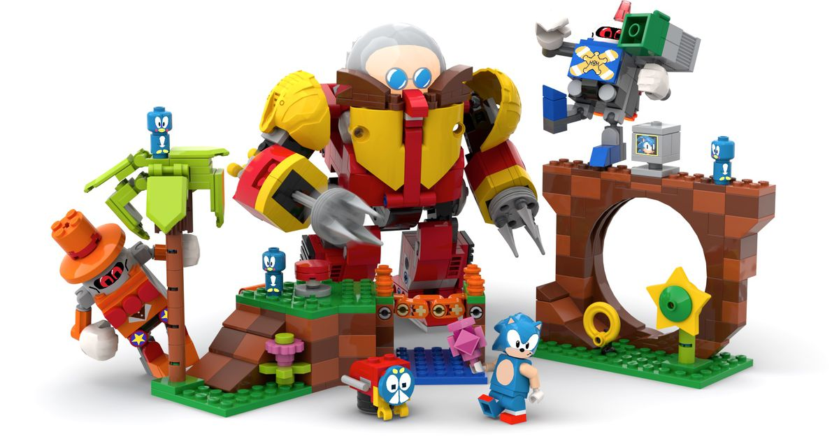 Sonic the Hedgehog Lego Ideas set will get official release – Polygon