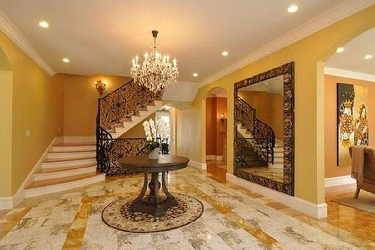 The Brookline mansion.