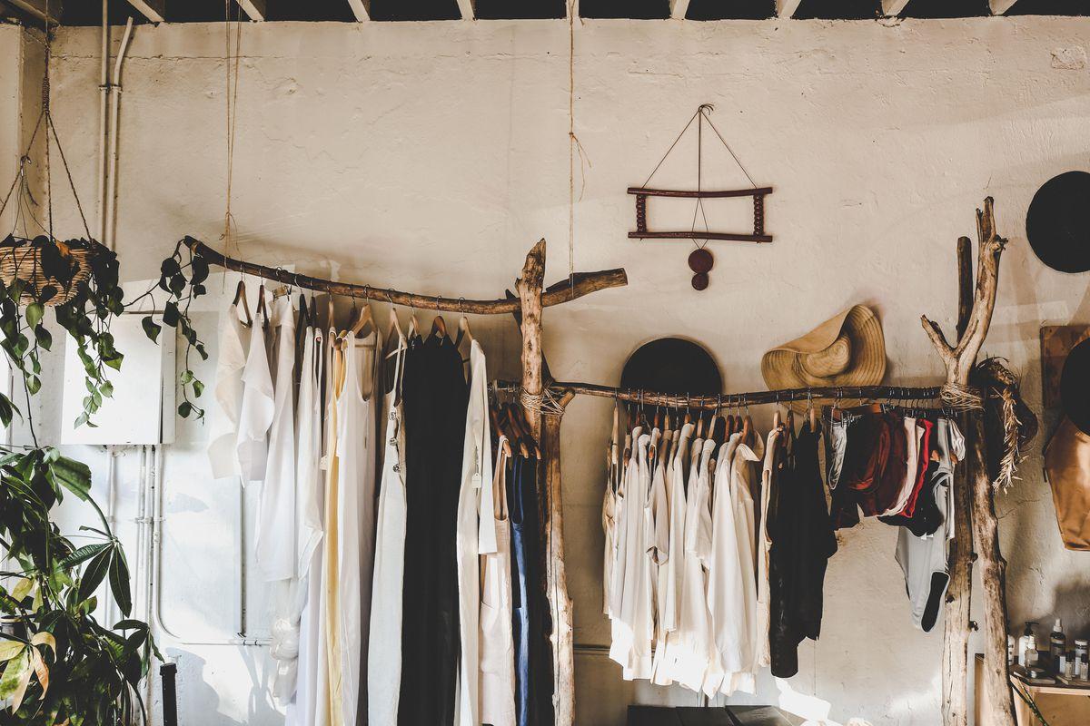 Clothes on display at Na Nin