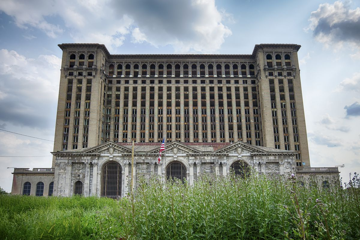Ford Motor Co. won $208 million in tax breaks to renovate Michigan Central Station, which has become a symbol of Detroit's decline.