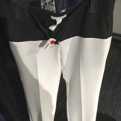 Double-weave pants, $50