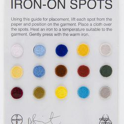 """Damien Hirst Iron-On Spots, $14 at <a href=""""http://ny.racked.com/archives/2014/05/01/damien_hirsts_other_criteria_opening_first_us_store_in_soho.php"""">Other Criteria</a>"""