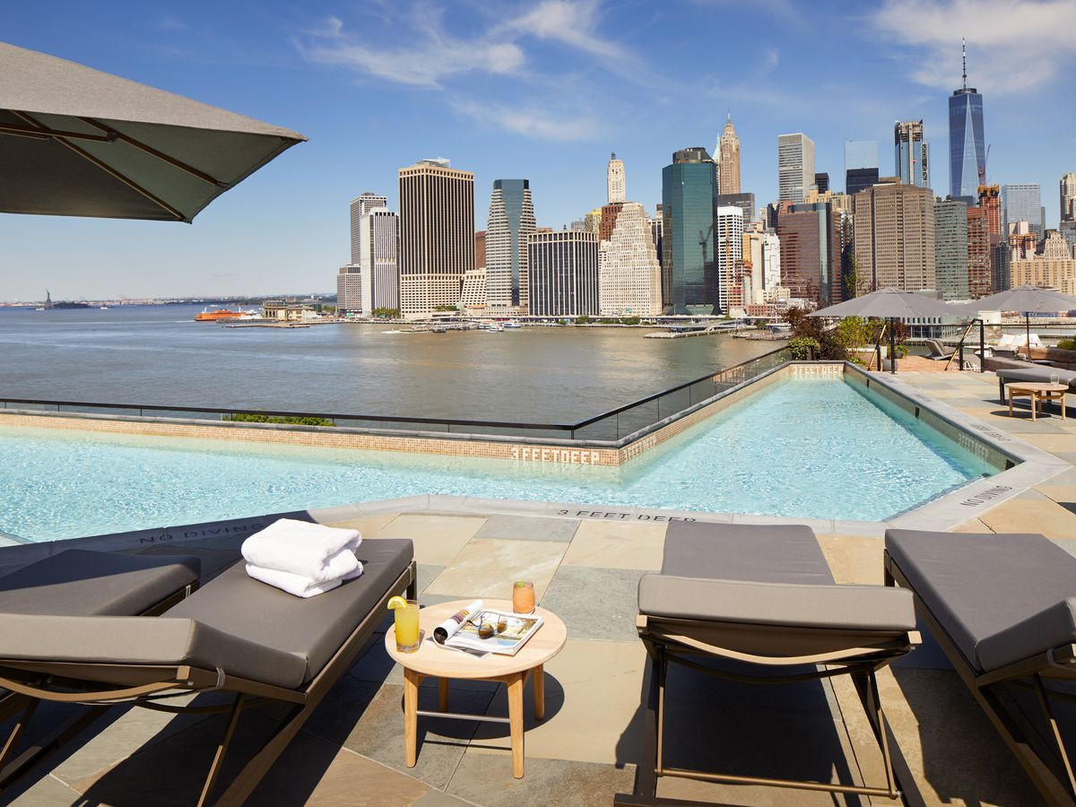 where to eat and drink poolside in new york