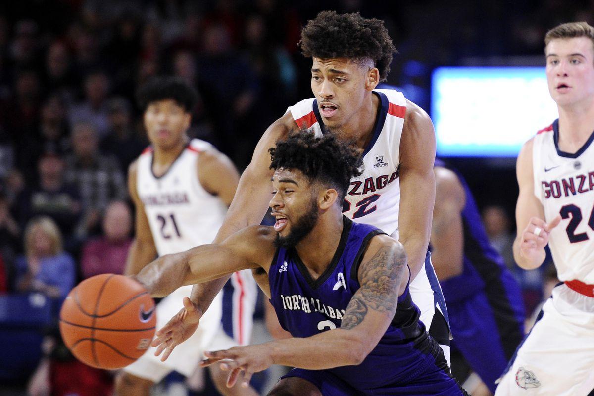 NCAA Basketball: North Alabama at Gonzaga