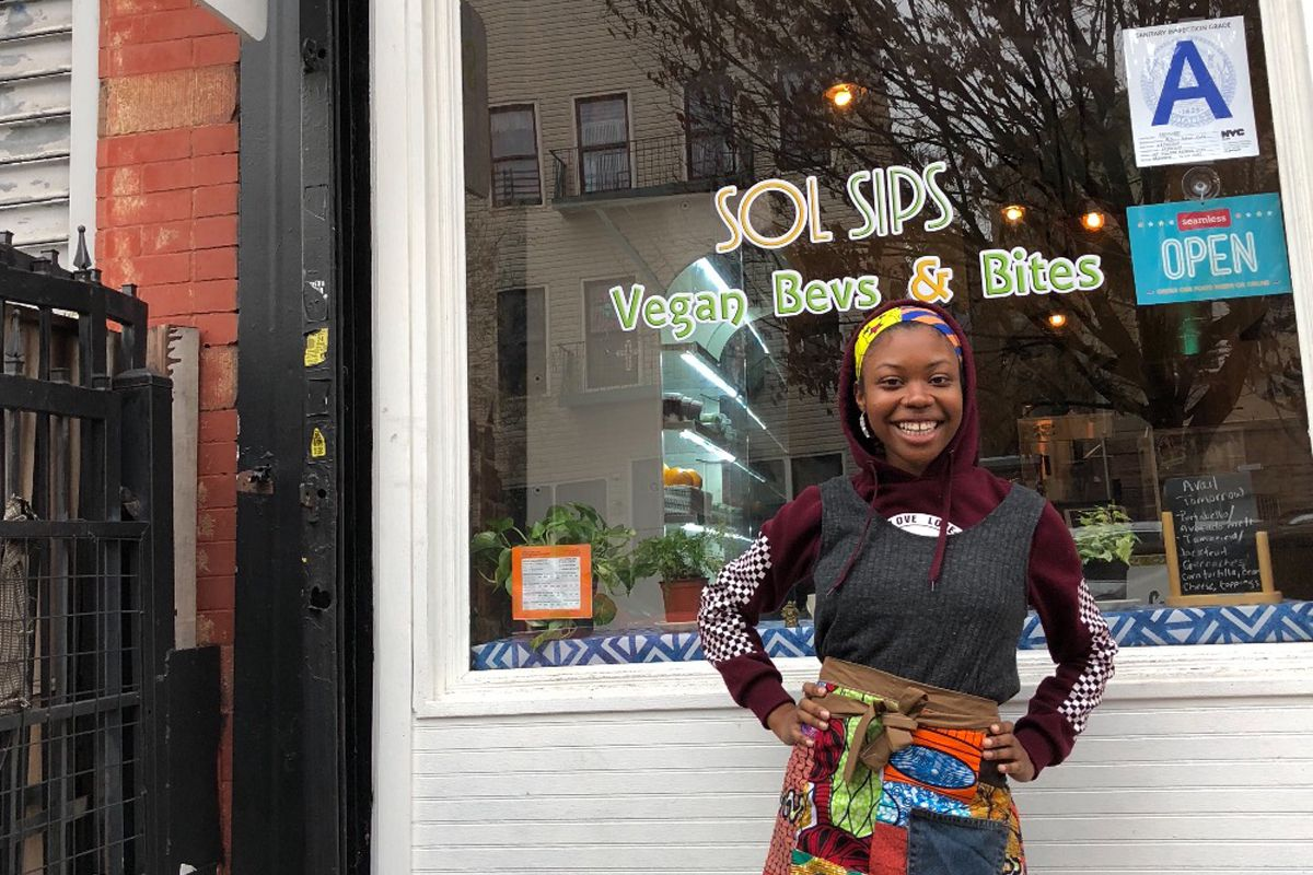 The Vegan Cafe In Brooklyn Making Healthy Food More